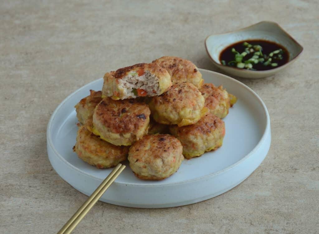 韓國家常菜-韓式鮮肉煎餅