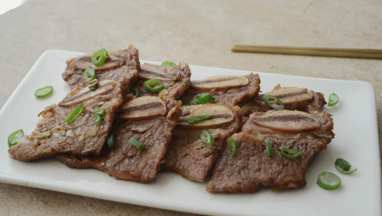 韓國家庭料理-韓式牛小排