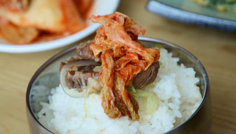 韓國料理'-配泡菜