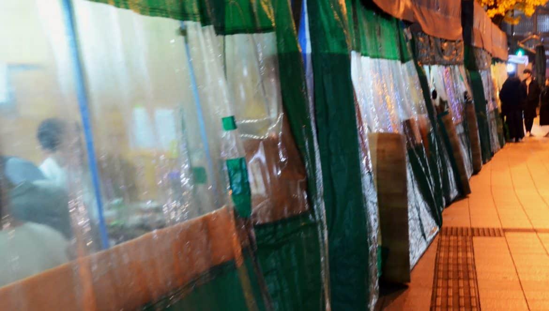韓國路邊攤塑膠棚