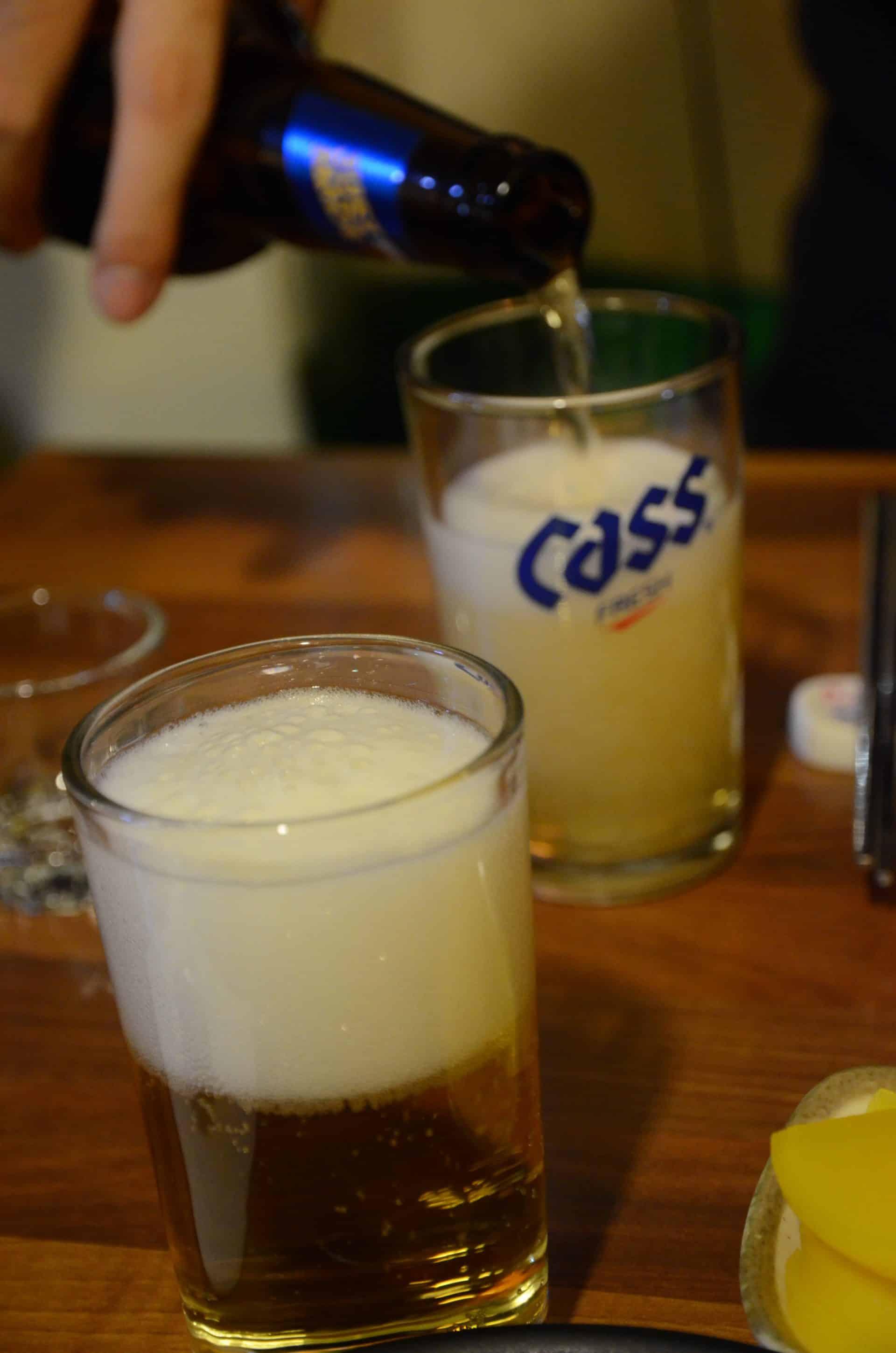 韓國人路邊攤喝酒