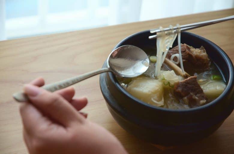 韓國料理-韓式牛排骨湯