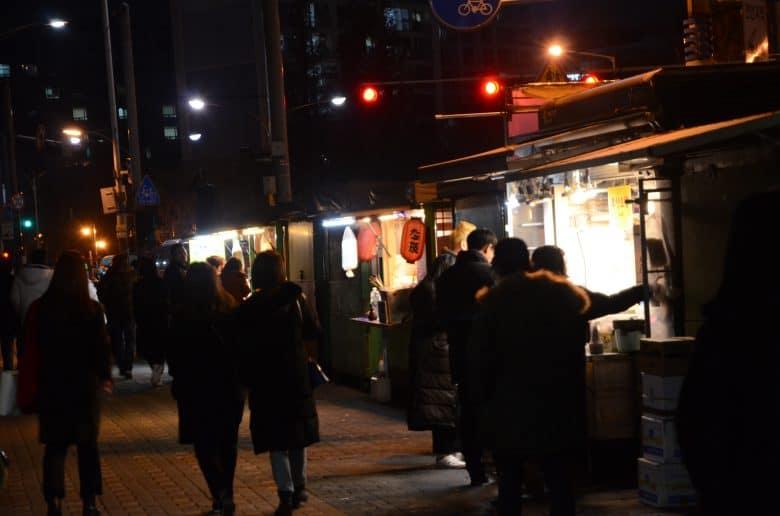 韓國路邊攤街頭風景