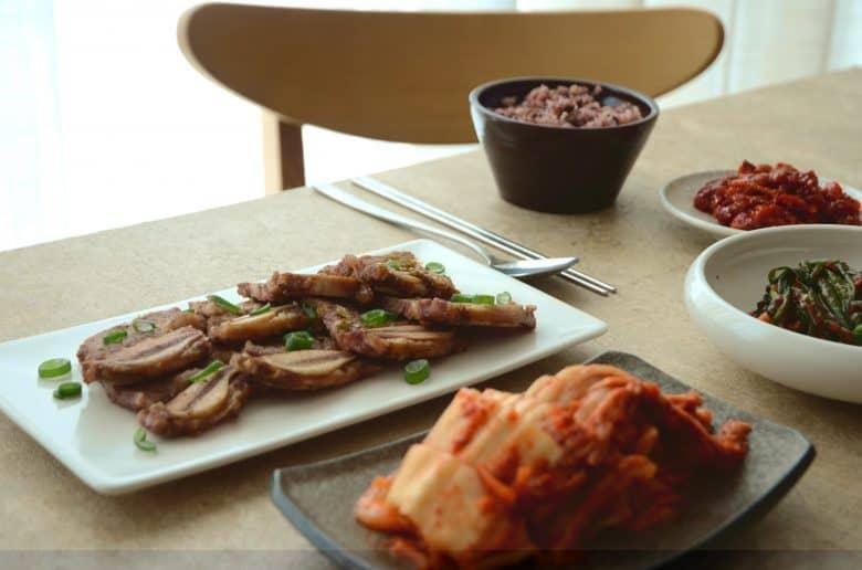 韓食飯桌-韓式牛小排
