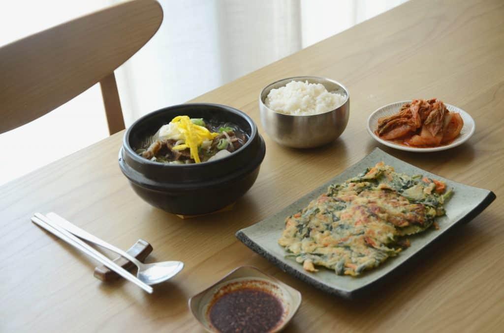 韓食飯桌-韓式牛排骨湯