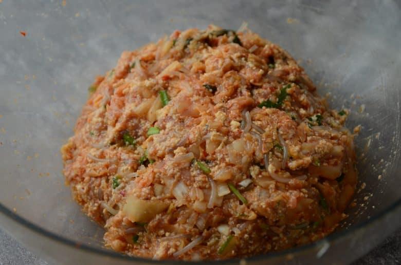 泡菜餃子做法食譜