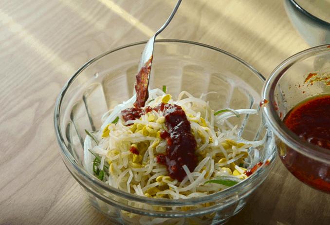 烤肉用韓式小菜
