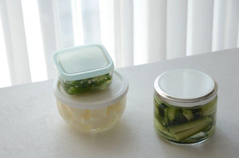 醃漬韓式小菜冷藏一個月