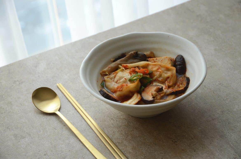 韓國料理-韓式餃子火鍋