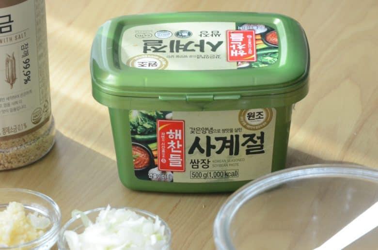 韓式包肉醬