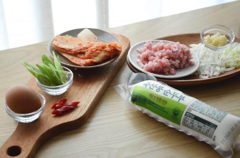 韓式嫩豆腐鍋食譜