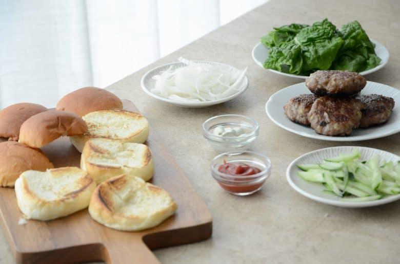 韓式小漢堡作法
