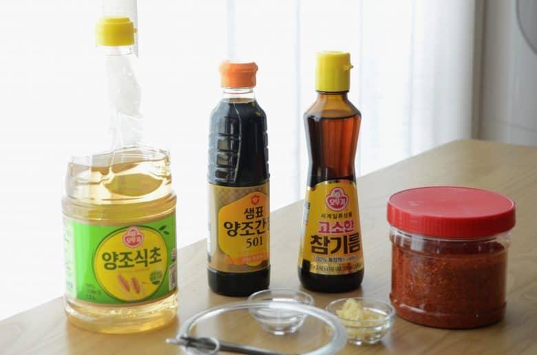 韓式小菜調味料