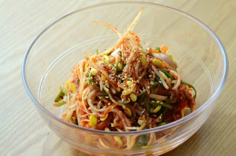韓式烤肉小菜食譜