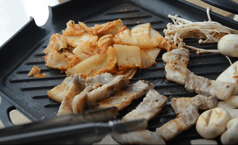 韓式烤五花肉烤法