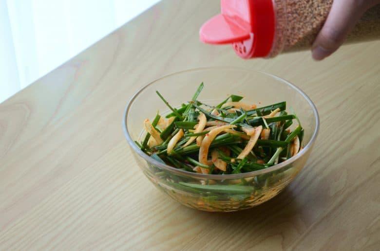 韓式烤肉涼拌小菜做法