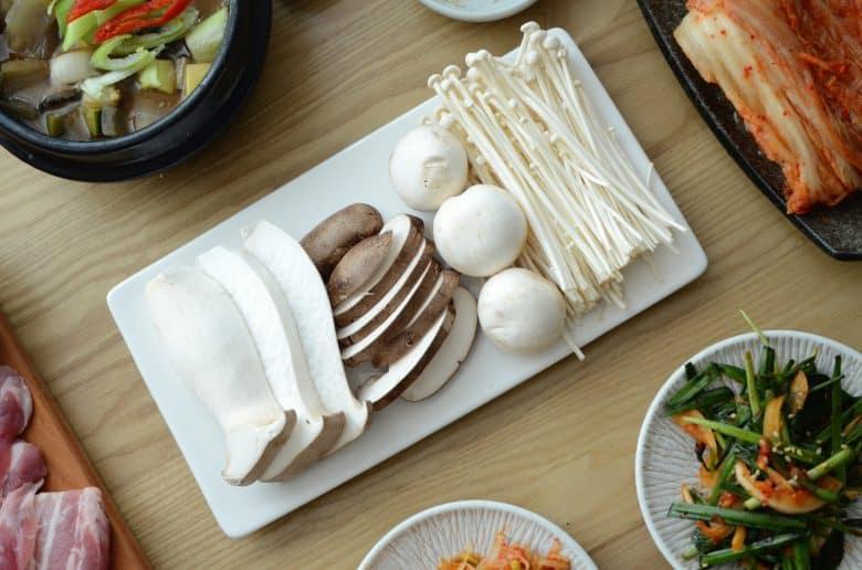 韓式烤肉配菜