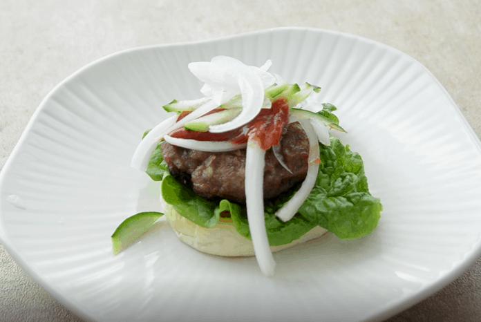 韓式輕食迷你漢堡