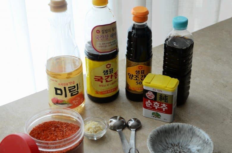 韓式餃子火鍋調味料製作