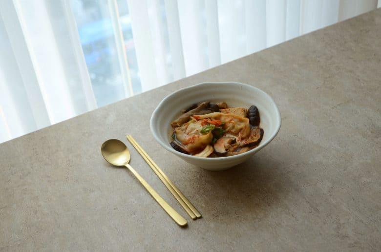 韓式餃子火鍋食譜