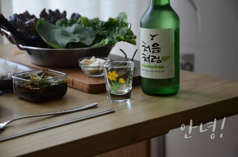 在家吃韓式烤五花肉