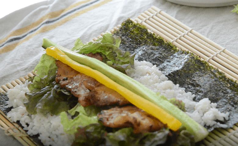 好吃的韓式紫菜包飯