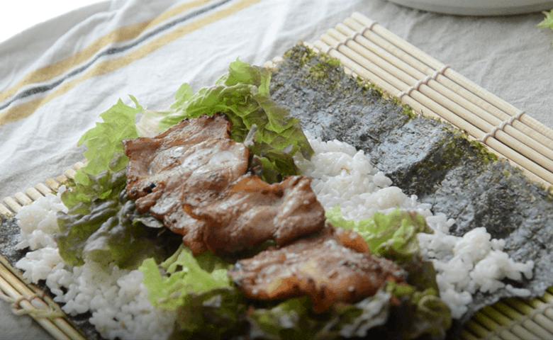 五花肉韓式紫菜包飯