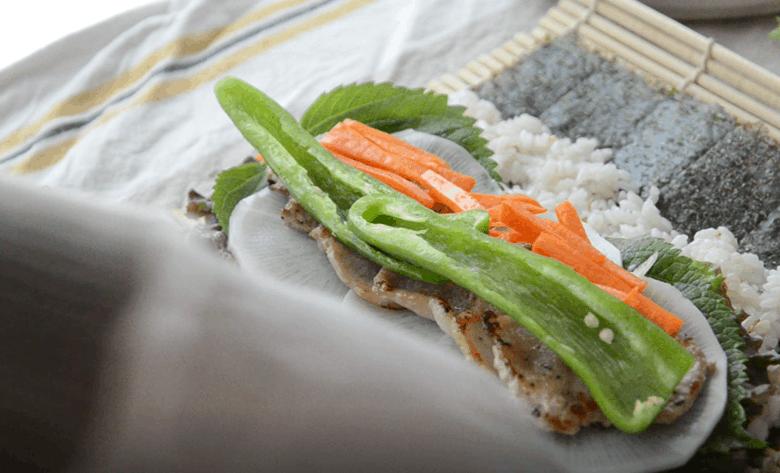 姜食堂韓式紫菜包飯