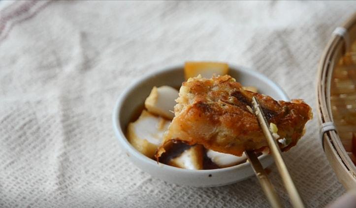 韓國料理-綠豆煎餅