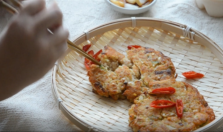韓國美食-綠豆煎餅