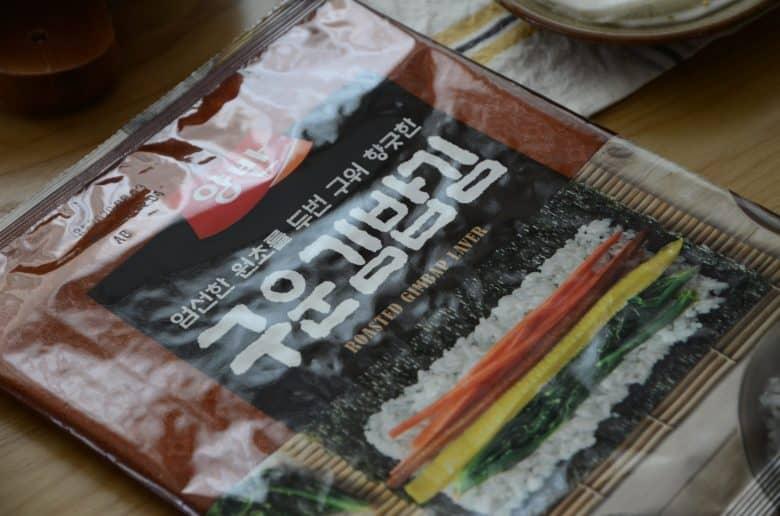 韓式紫菜包飯用