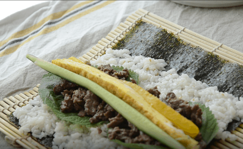 韓式紫菜包飯食譜