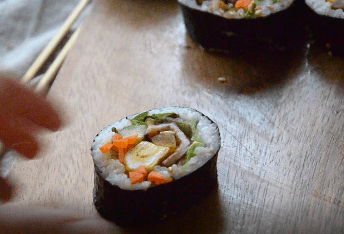 韓式紫菜包飯-包五花肉