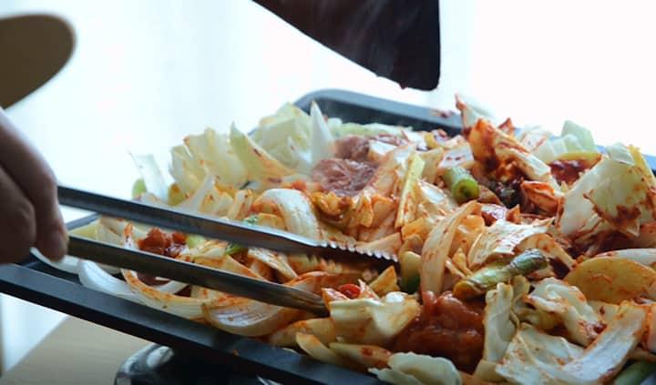 春川辣炒雞排食譜作法