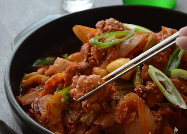 韓國美味辣炒雞排