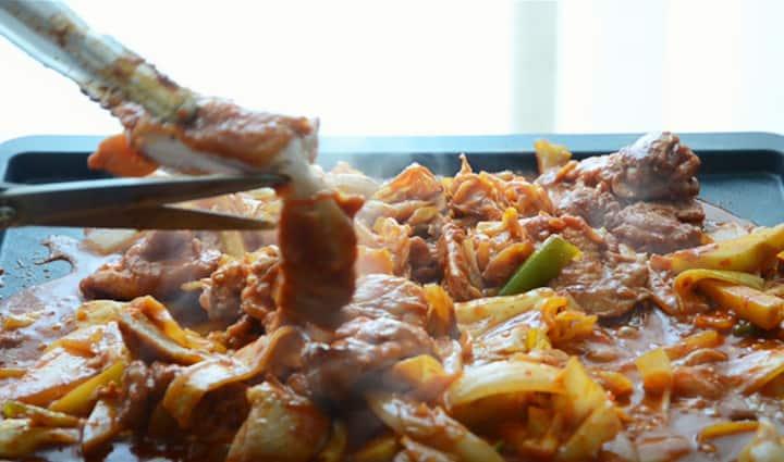 韓國美食-春川辣炒雞排