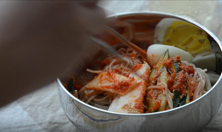 韓式冷拌麵