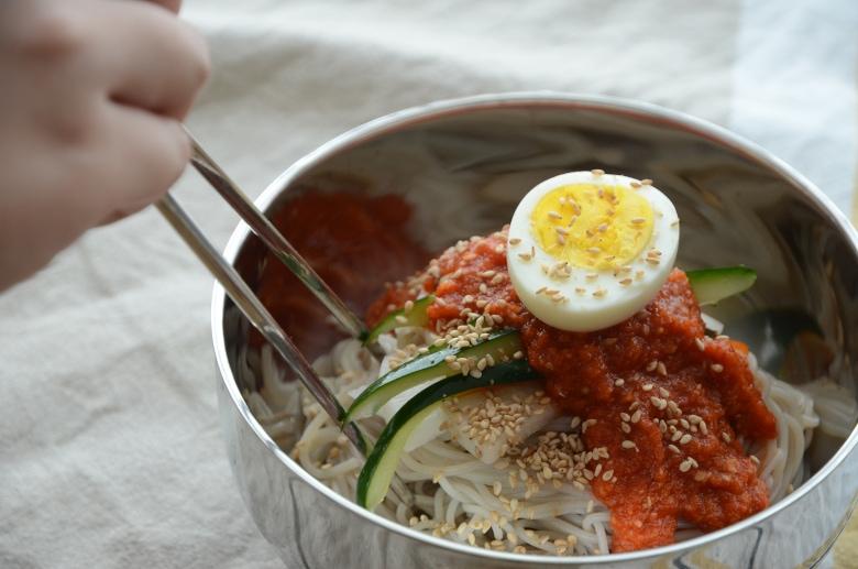 韓式拌冷麵