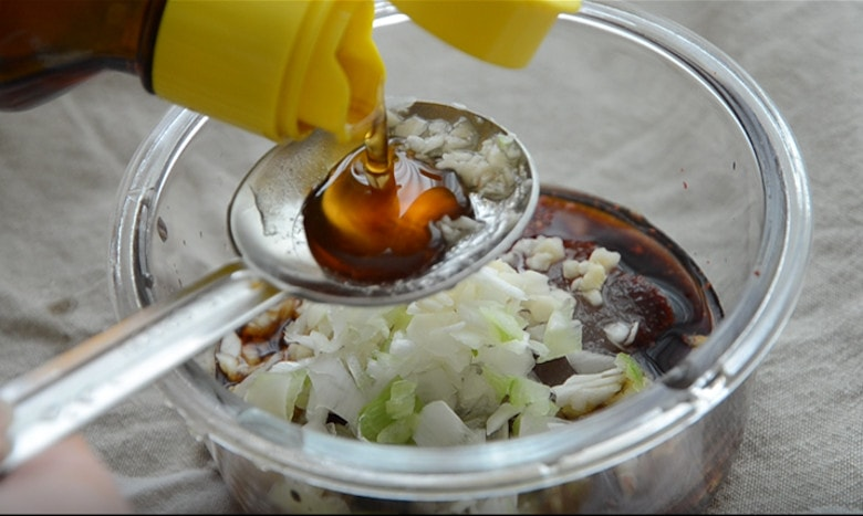 韓式蔬菜拌麵做法