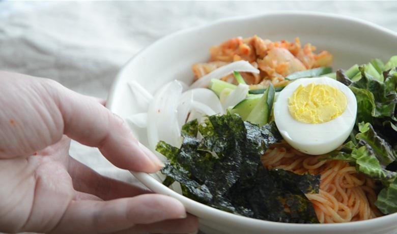 韓式冷拌麵食譜