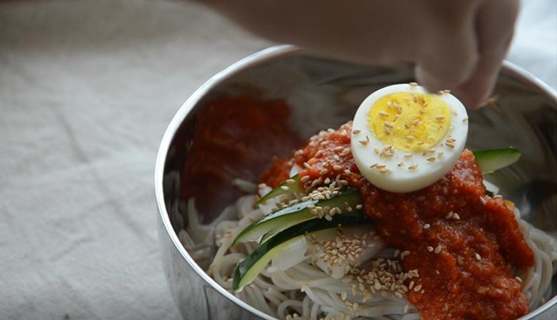 韓式辣拌冷麵