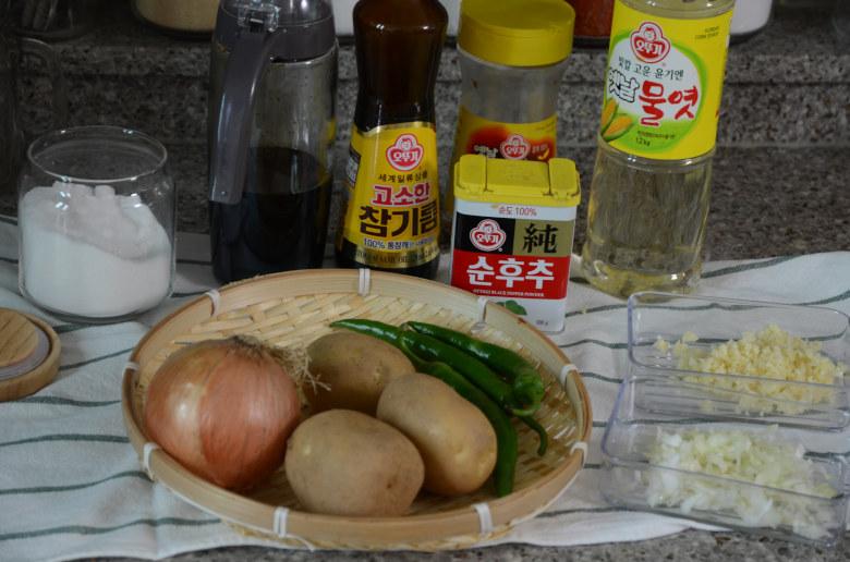 醬燒馬鈴薯食材