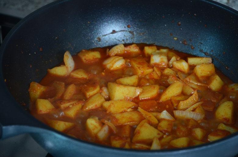 韓式醬燒馬鈴薯食譜