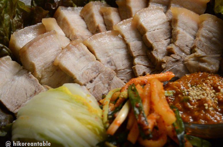 韓式菜包肉做法與食譜