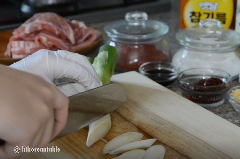 韓式辣炒豬肉食譜