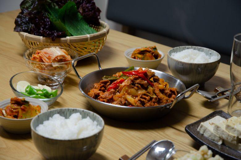 韓國美食韓式辣炒豬肉