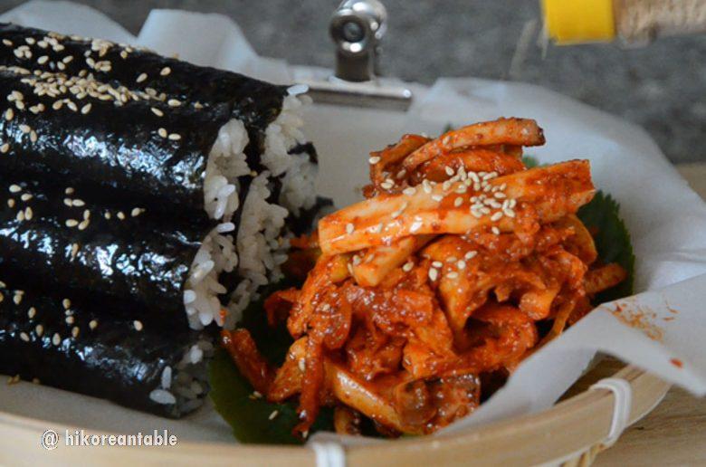 韓式紫菜包飯作法