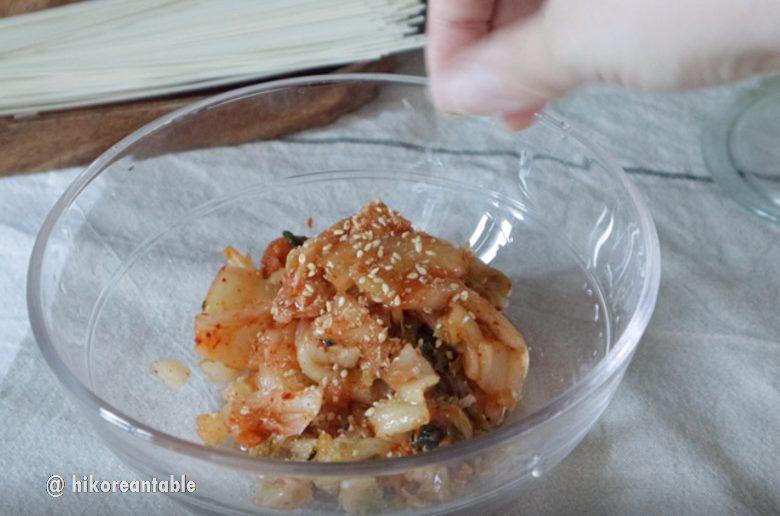 韓式泡菜湯冷麵食譜