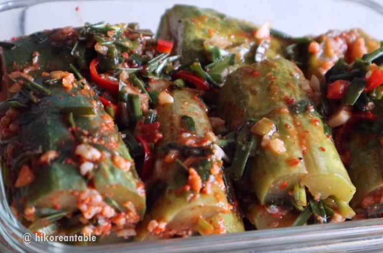 黃瓜泡菜食譜