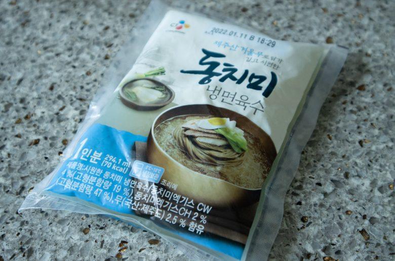 韓式冷麵湯底